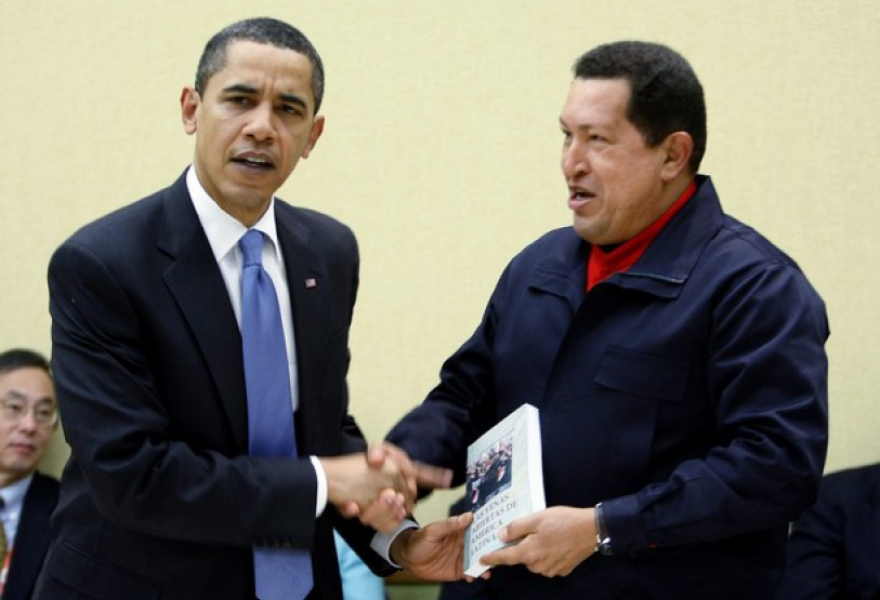 President Chavez of Venezuela surprised Obama with a book on US and European involvement in Latin America