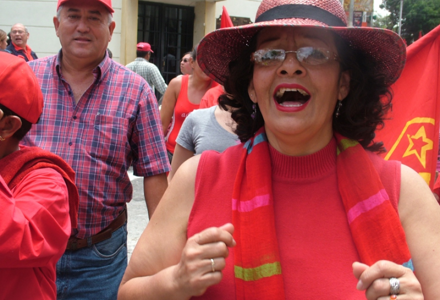 Marta Zerpa, substitute legislator in the Merida legislative assembly (Tamara Pearson)