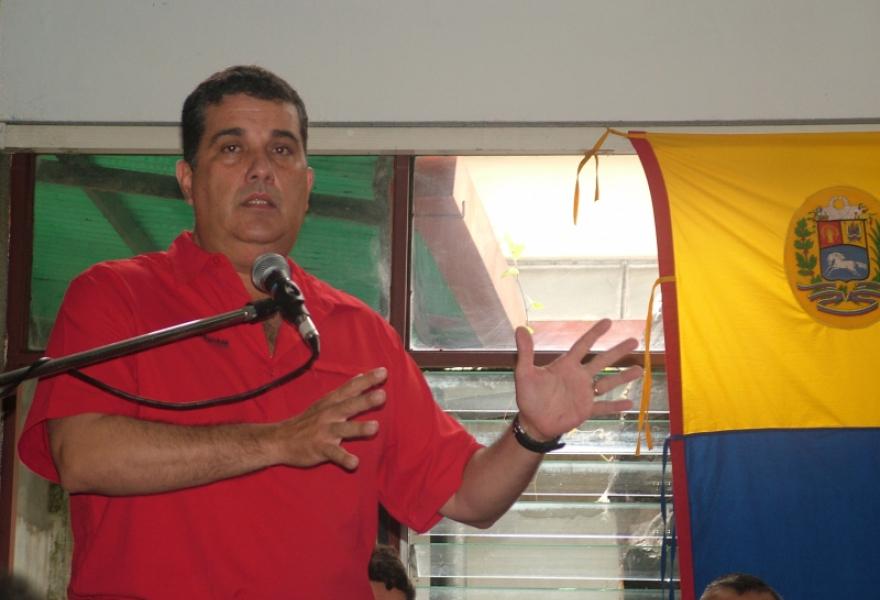 Marcos Dias, Merida state governor (Tamara Pearson/Venezuelanalysis.com)