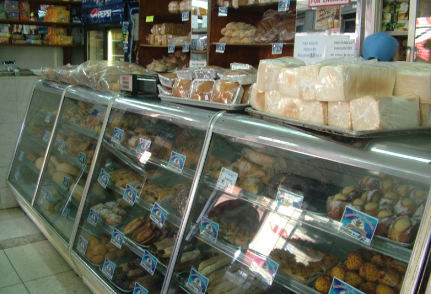 A privately owned breadshop in Merida (Tamara Pearson/Venezuelanalysis.com)