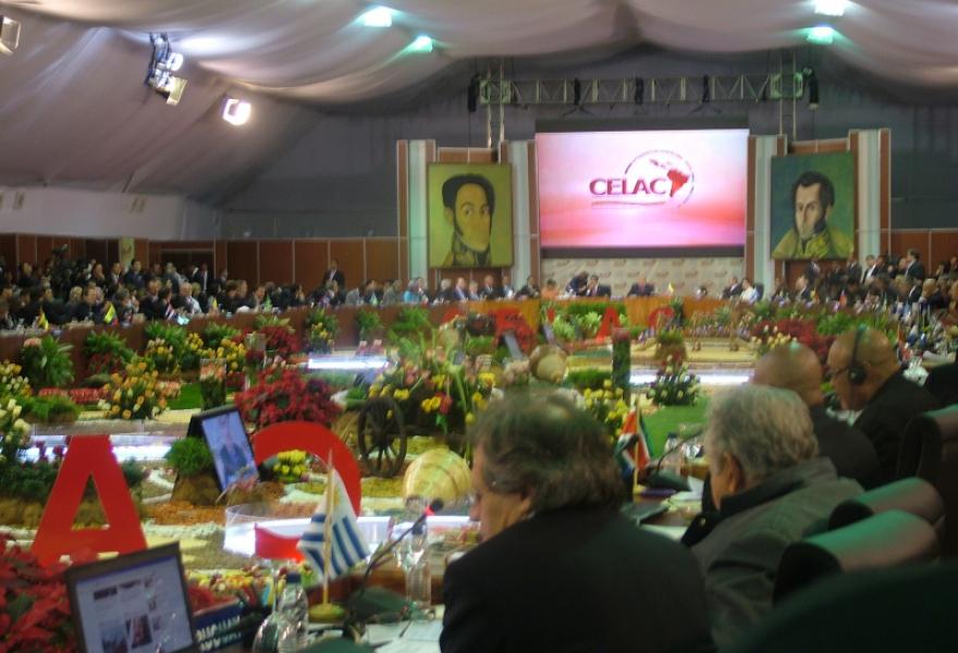 CELAC plenary session, 2 December 2011 (Tamara Pearson / Venezuelanalysis.com)