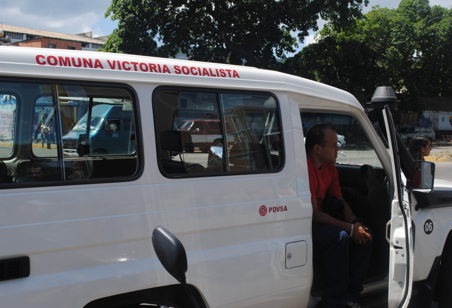 The government provided transport to facilitate voting (Rachael Boothroyd - Venezuelanalysis)