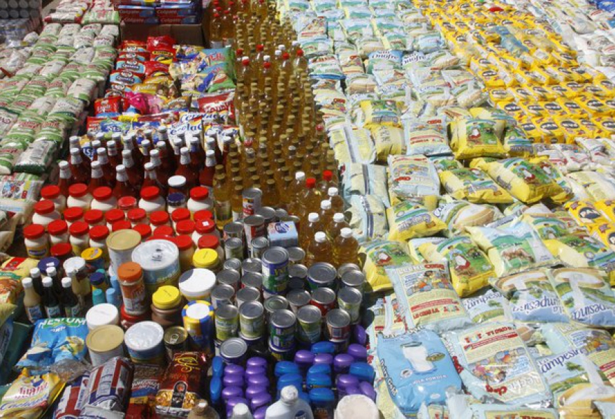The National Guard (GNB) has seized several tons of hoarded foodstuffs as part of the battle against shortages (VTV)