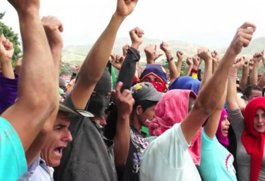 Catatumbo Farmers have requested asylum in Venezuela (agencies)