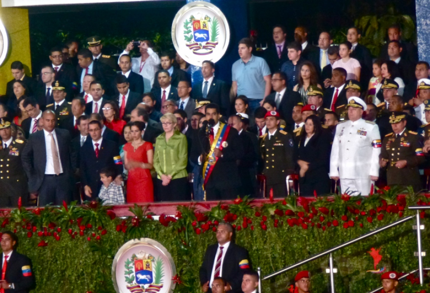 The announcement was made at Caracas' military academy on Friday at the start of a parade for Venezuela's Day of Independence (Sascha Bercovitch/Venezuelanalysis.com)