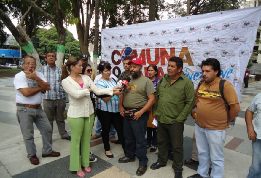 Commune activists from the mountains of Lara state (western Venezuela) met to denounce the situation of growing insecurity in their communities (Prensa Safonacc Lara)
