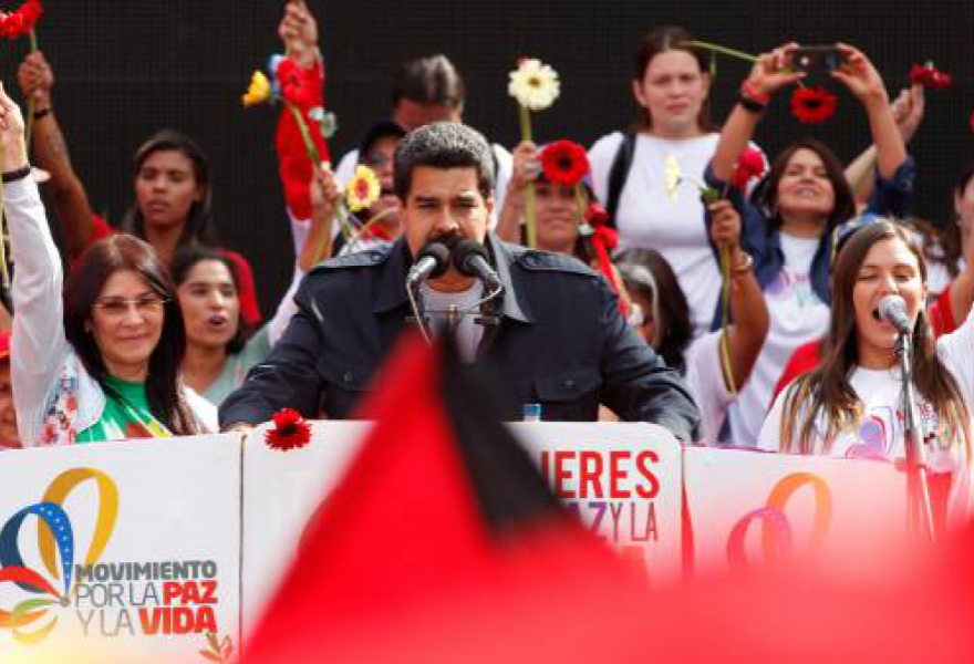 "Venezuelan president Nicolas Maduro has called for a ""National Peace Conference"" as a means of resolving the on-going opposition protests in Venezuela (AVN)"