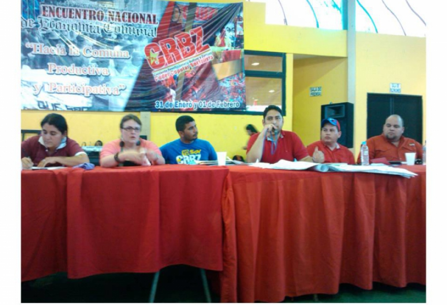 The National Communal Economy conference was held in Barinas state   (Prensa CRBZ)