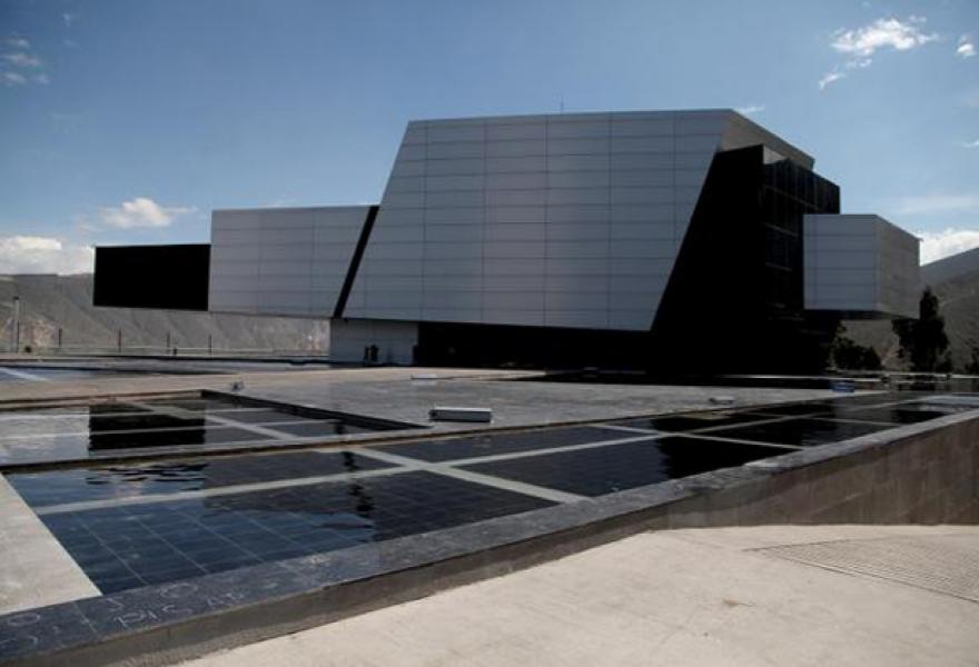 The new UNASUR HQ (@CancilleriaEc)
