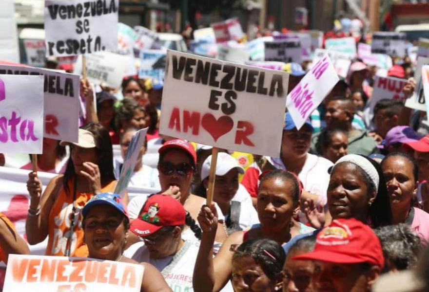 """""""Venezuela is love"""" (AVN)"""