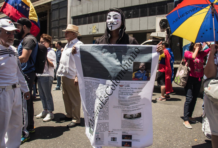 """Maduro is Colombian"" (Alba-TV)"