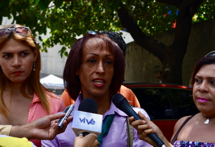 Rummie Quintero, founder of Divas of Venezuela (Rachael Boothroyd Rojas/Venezuelanalysis)